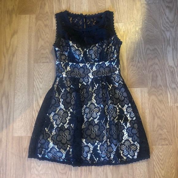 B Darlin Dresses & Skirts - GORGEOUS Black Lace dress